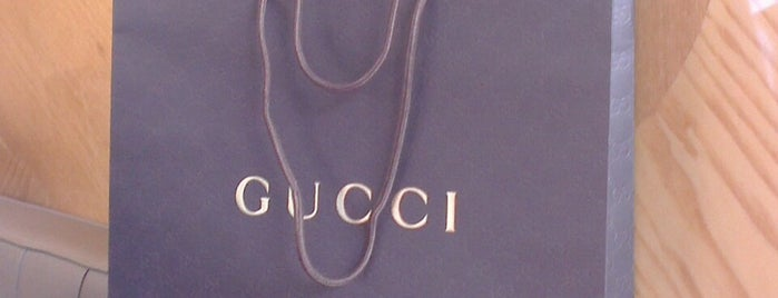 Gucci is one of Lieux sauvegardés par Lamia N.