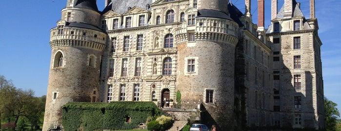 Château de Brissac is one of Châteaux de la Loire.