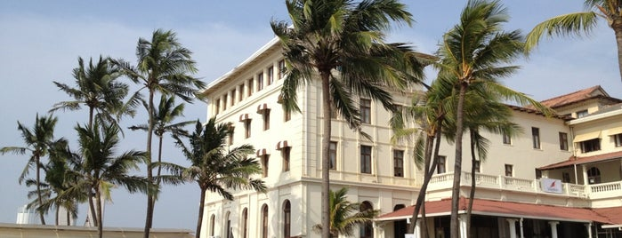 Galle Face Hotel is one of My Top-Ten Hang-Outs.