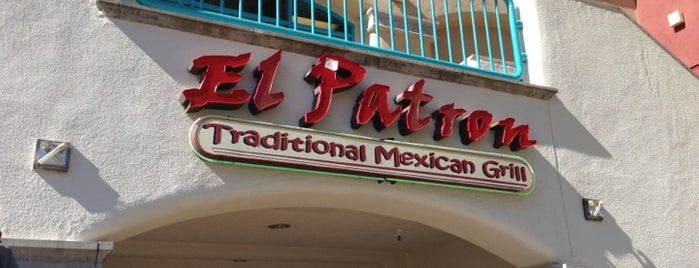 El Patron Traditional Mexican Grill is one of Gespeicherte Orte von Xiong.