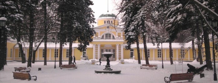 Братцевский парк is one of Ancient manors of Russia.