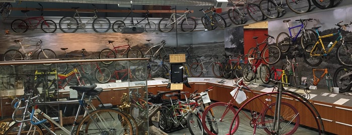 Marin Museum of Bicycling is one of BAY-ACTIVITY-art.