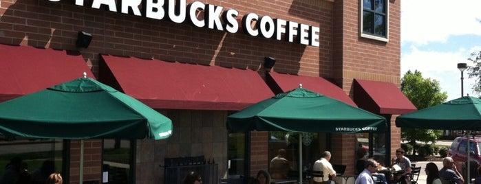 Starbucks is one of Andrew : понравившиеся места.