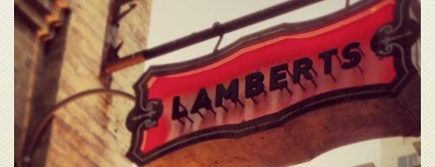 Lambert's Downtown BBQ is one of Austin.