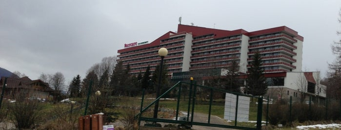Hotel Mercure Zakopane Kasprowy is one of Tomek : понравившиеся места.