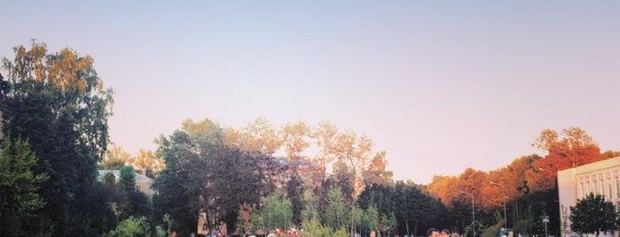 """Сквер """"Покорителям Космоса"""" is one of Lugares guardados de Елизавета."""