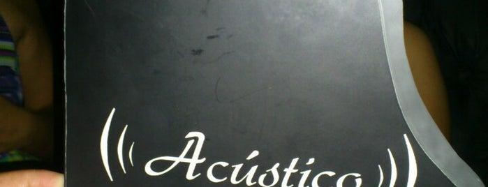 Acústico is one of Gerardo'nun Beğendiği Mekanlar.