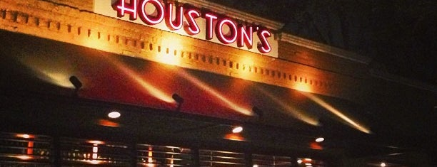 Houston's Restaurant is one of My Boca Spots.