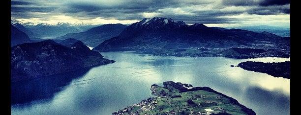 Rigi Staffel is one of Switzerland.