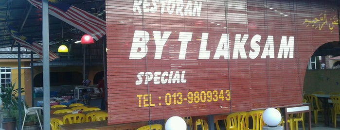Kedai By-t Laksam is one of Neu Tea's Kota Bharu Trip.