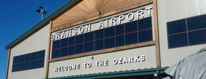 Branson Airport (BKG) is one of Airports I've Pee'd In.