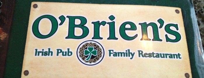 O'Briens Irish Pub is one of dinner.