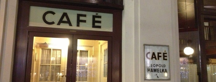 Café Hawelka is one of Kaffeehäuser.