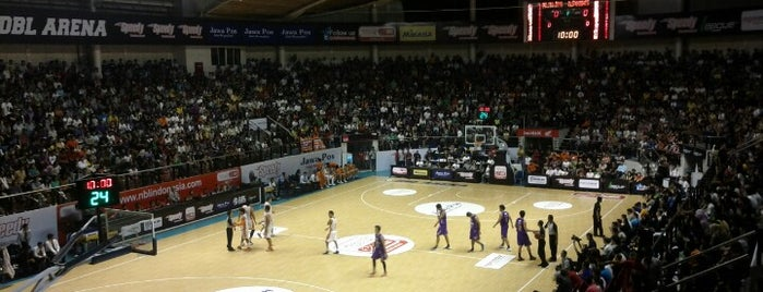 DBL Arena is one of Characteristic of Surabaya.