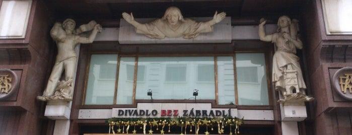 Divadlo Bez zábradlí is one of 2018 - Praga.