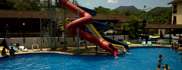 Água Doce Praia Hotel is one of Tempat yang Disukai Edy.