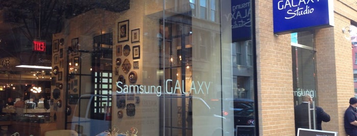 Samsung Galaxy Studio Soho is one of Silicon Alley, NYC (List #2).