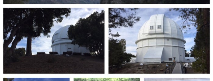 Mount Wilson Observatory is one of LA Outings.