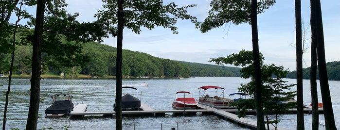 Deep Creek Lake is one of Deep Creek Maryland.