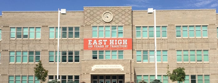 East High School is one of Elena 님이 좋아한 장소.