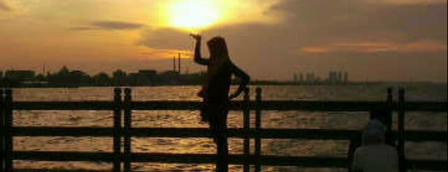 Ancol Beach is one of A Perfect Day in Jakarta.