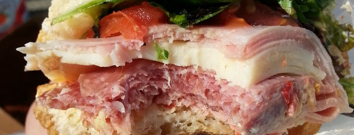 Lucca's Delicatessen is one of SANDWICH.