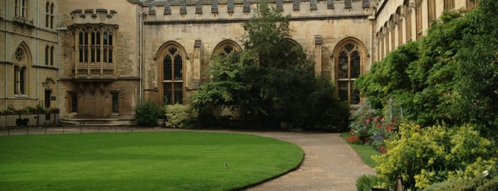 Balliol College is one of When you travel.....