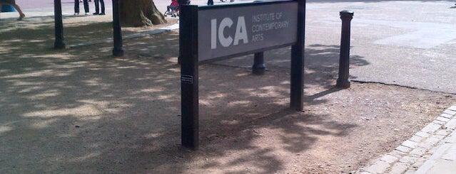 ICA Cinema is one of Lugares favoritos de Thomas.