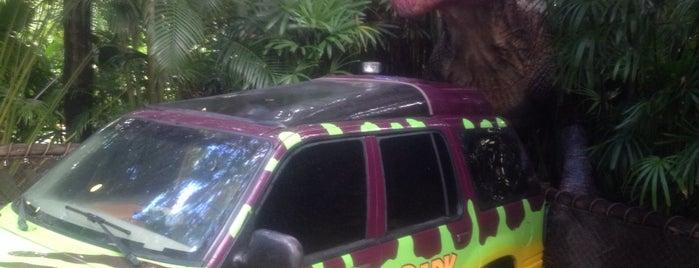 Jurassic Park River Adventure is one of Atlanta Miami.