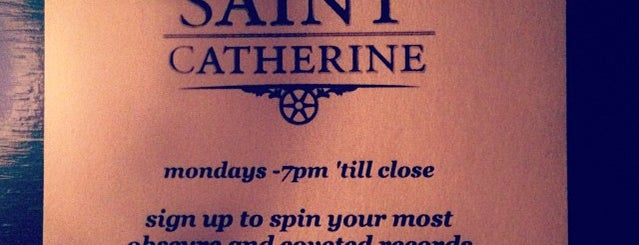 The Saint Catherine is one of The NYC Summer Good Cocktail Passport Locations.
