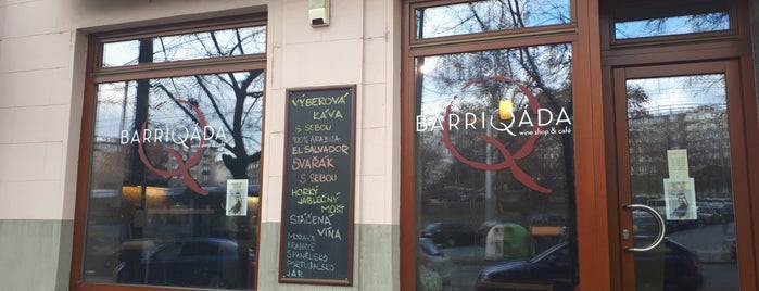 Barriqáda is one of Posti che sono piaciuti a Tomas.