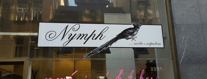 Nymph is one of Navštiv 200 nejlepších míst v Praze.