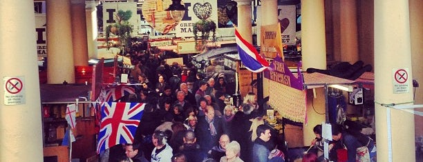 Greenwich Market is one of Food & Drink to check out.