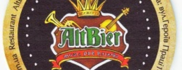 AltBier is one of kharkiv.