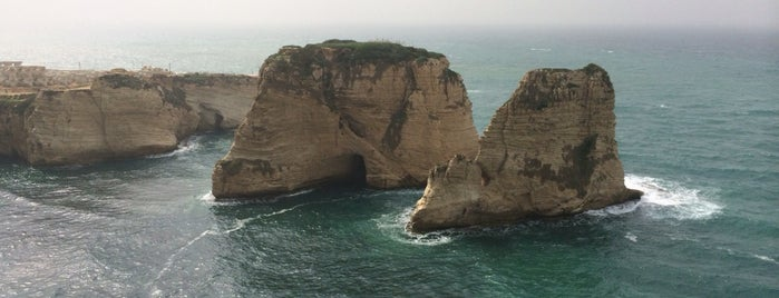 Pigeon Rocks is one of Beirut.