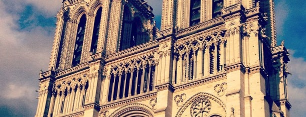 Kathedrale Notre-Dame de Paris is one of Paris - je t'aime.