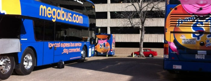 Megabus Austin Stop is one of Austin tx.