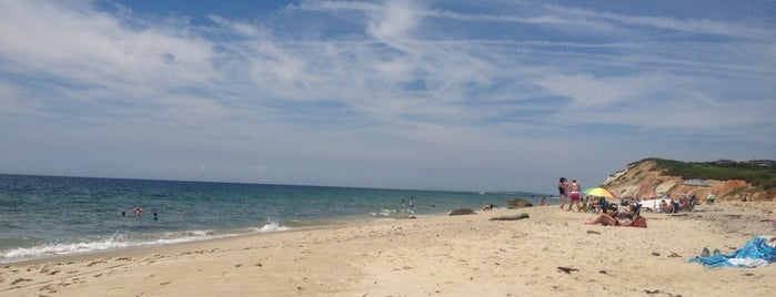 Aquinnah Beach is one of MV.