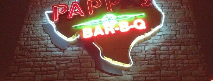 Pappas Bar-B-Q is one of Gespeicherte Orte von rodney.