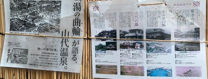 山代温泉 is one of 行きたい温泉.