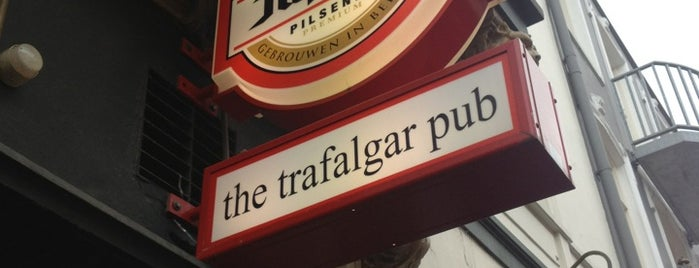 The Trafalgar Pub is one of To Visit.