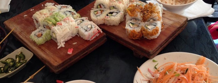 Sensu Sushibar is one of Comida.
