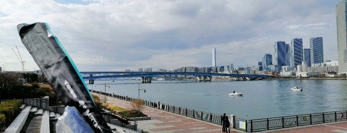 Toyosu Park is one of Lugares favoritos de Tomato.