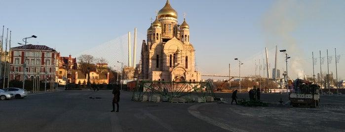 Площадь Борцов за власть Советов is one of Tempat yang Disukai Tomato.