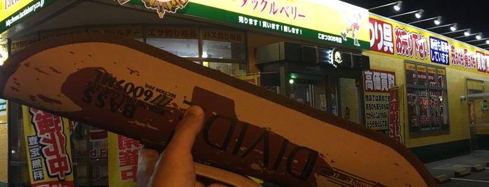 タックルベリー こまつ305号店 is one of Lugares favoritos de Tomato.
