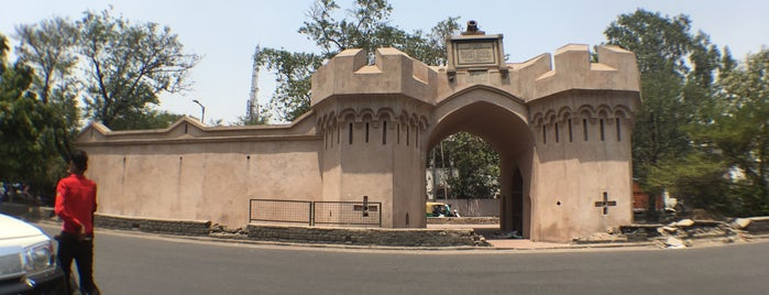 Kashmere Gate is one of インド。🇮🇳.