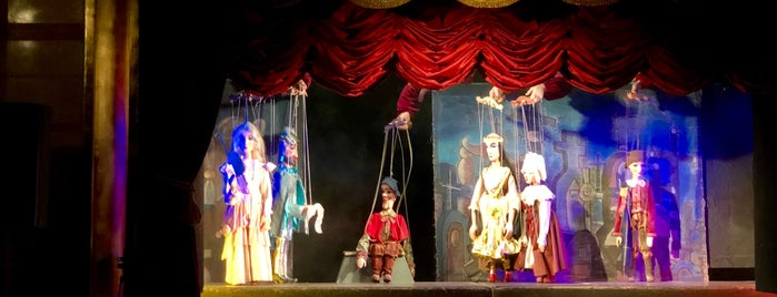 National Marionette Theatre is one of Prague.