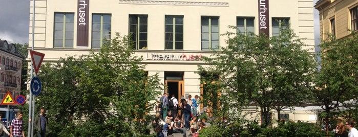 Litteraturhuset is one of Locais curtidos por Jana.