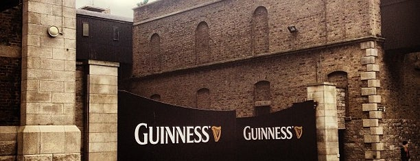 Guinness Storehouse is one of Dublin. Ireland.