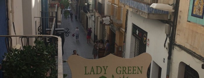 Lady Green Bio Vegetarian and Vegan Restaurant is one of Hi he estat.